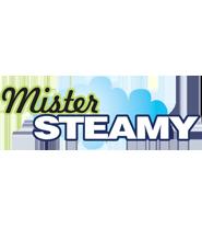 Mister Steamy® logo